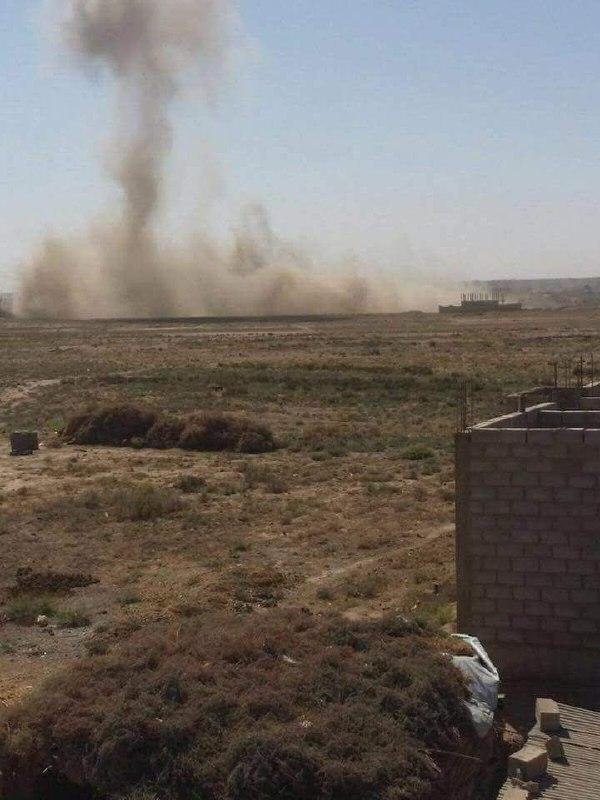 ريف دير الزور الشرقي لا يزال تحت القصف الجوي العنيف
