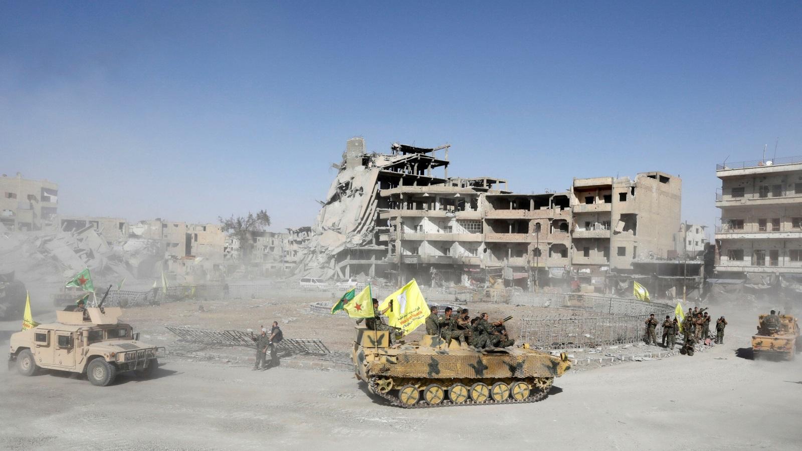 موقع الرقة في معادلة الصراع السوري