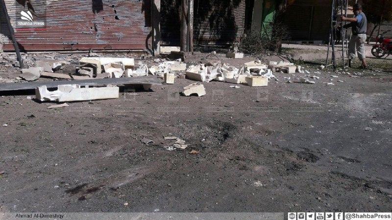 مجزرة بقصف مدفعي لقوات النظام على مدينة دوما في الغوطة الشرقية