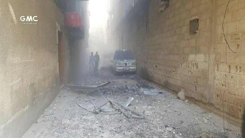 شهداء وجرحى بقصف مدفعي على مدن وبلدات الغوطة الشرقية