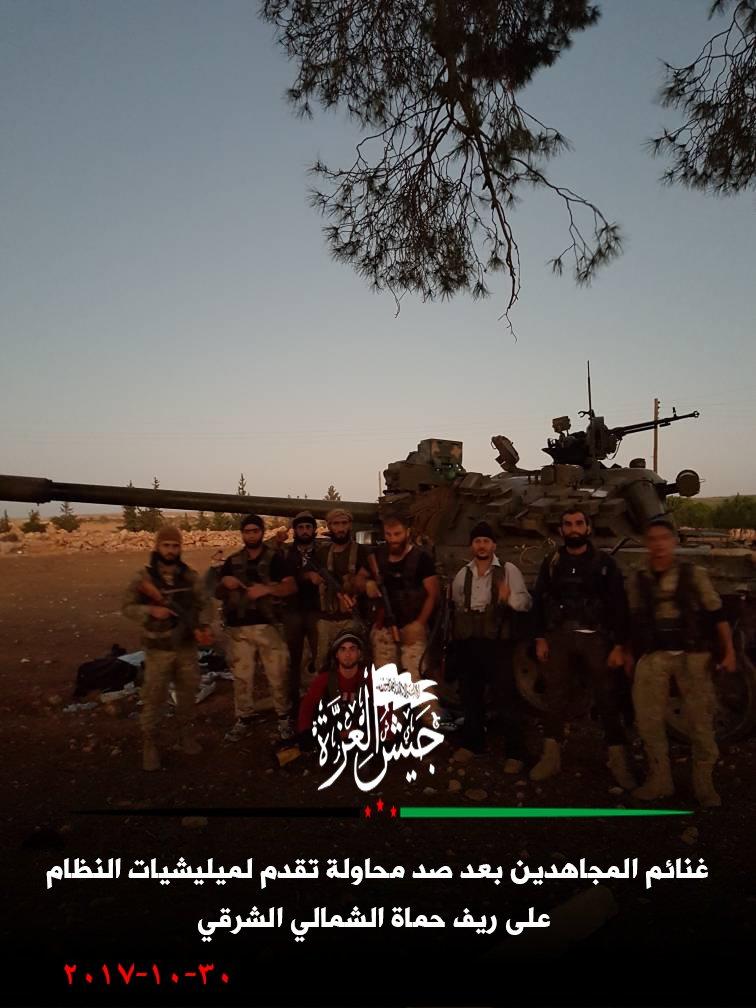 ميلشيات النظام تتكبد 20 عنصراً في هجوم فاشل بريف حماة