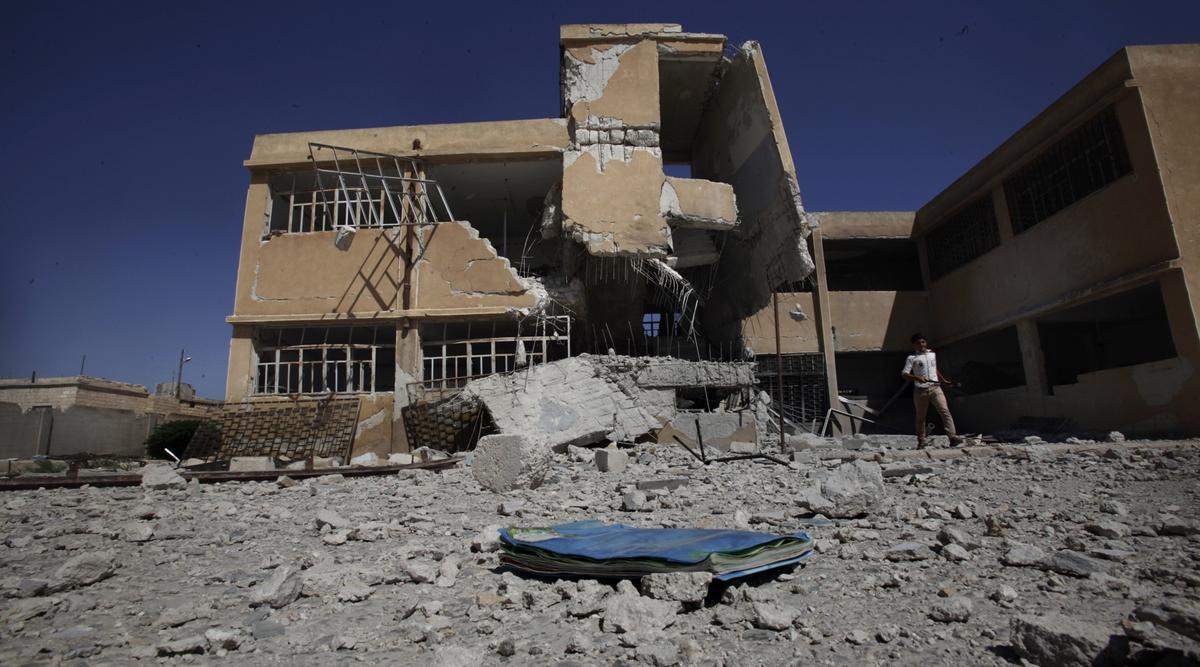 نشرة أخبار سوريا- التربية الحرة في حلب تعلق الدوام في المدارس احتجاجاً على خطف مديرها، وروسيا: الحل العسكري هو الوحيد في التعامل مع القوات الكردية في سوريا -(4-11-2017)