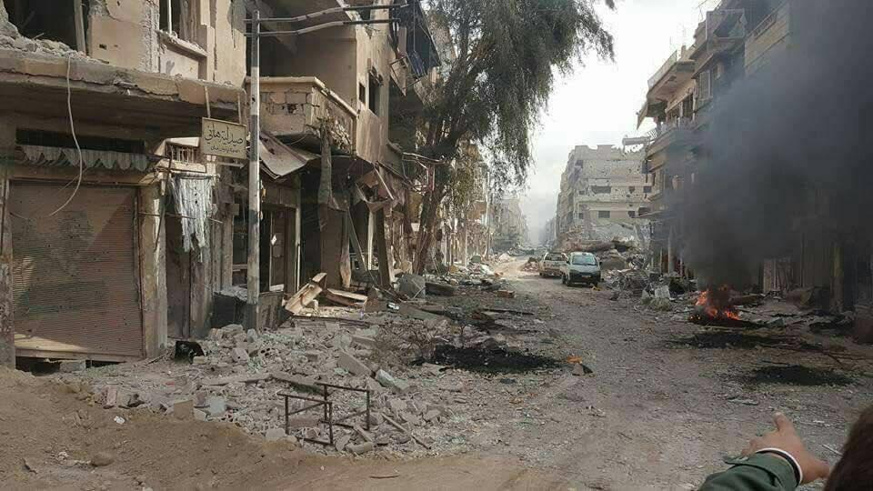 غارات جوية تودي بحياة العشرات في ريف دير الزور