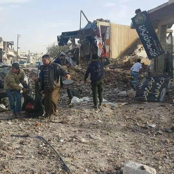 مقتل وإصابة العشرات في مجزرة مروعة بمدينة الأتارب غرب حلب