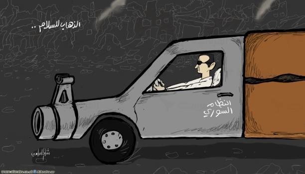 رهان خاسر على النظام السوري