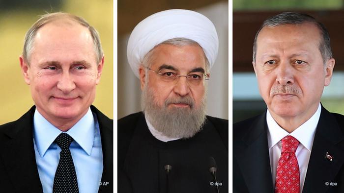 اجتماع ثلاثي في سوتشي لبحث الملف السوري