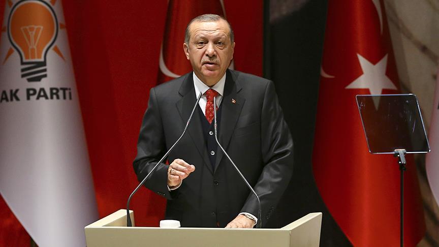 أردوغان يتوعد بطرد الميلشيات الكردية من عفرين