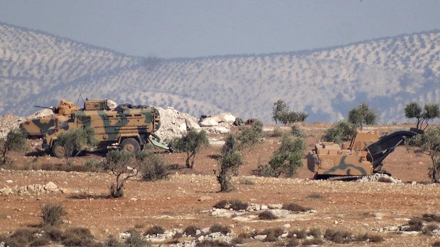 الميلشيات الكردية تستهدف القوات التركية المتمركزة قرب عفرين
