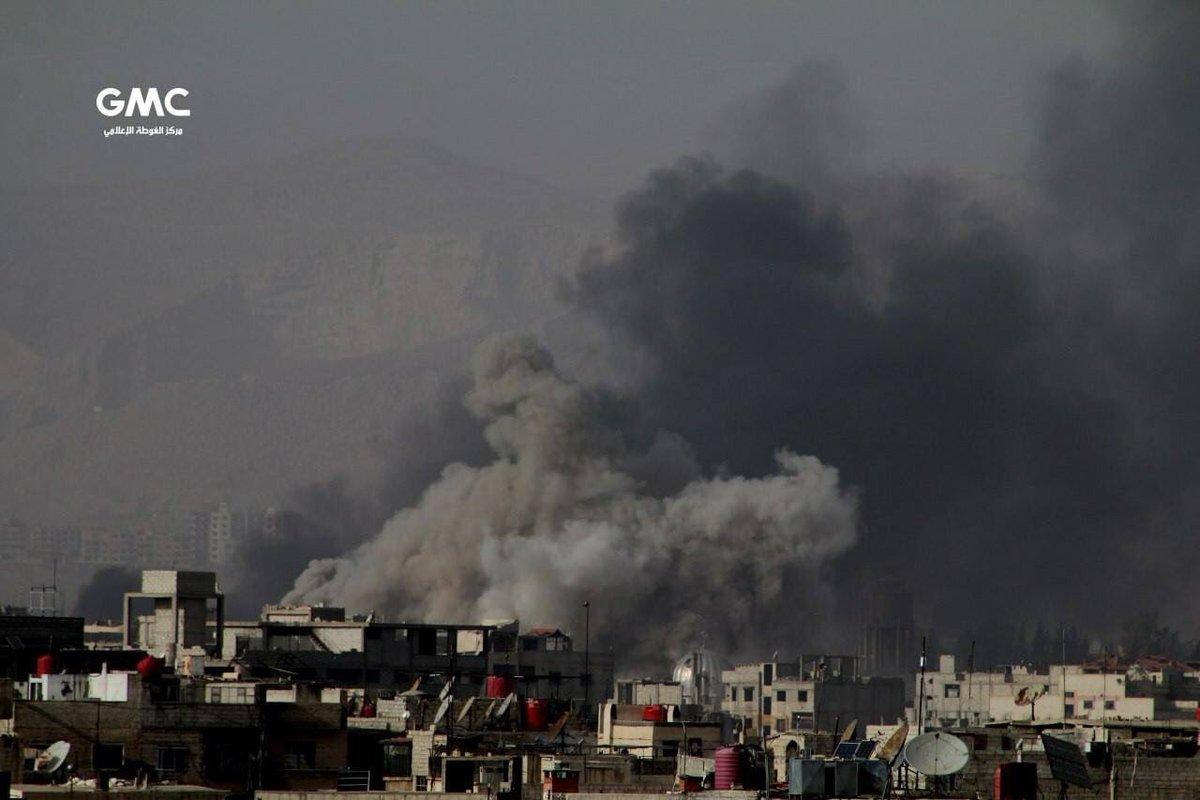 عشرات القتلى والجرحى في قصف على الغوطة الشرقية