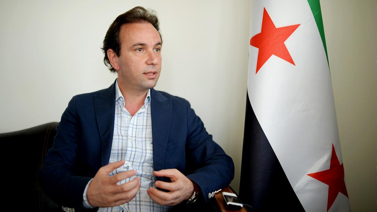 خالد خوجة يشرح أسباب مقاطعة أعضاء الهيئة العليا للمفاوضات لمؤتمر الرياض2