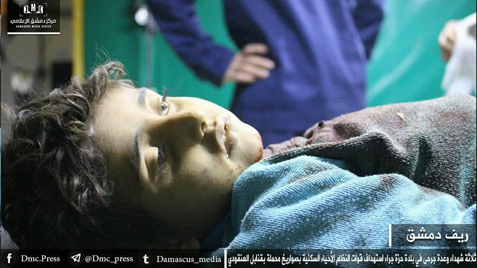 من قصص الصمود في الغوطة المحاصرة