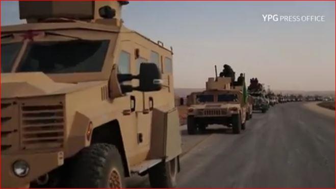 تركيا تتوعد باستئصال قسد من عفرين، والأخيرة ترد باستعراض عسكري