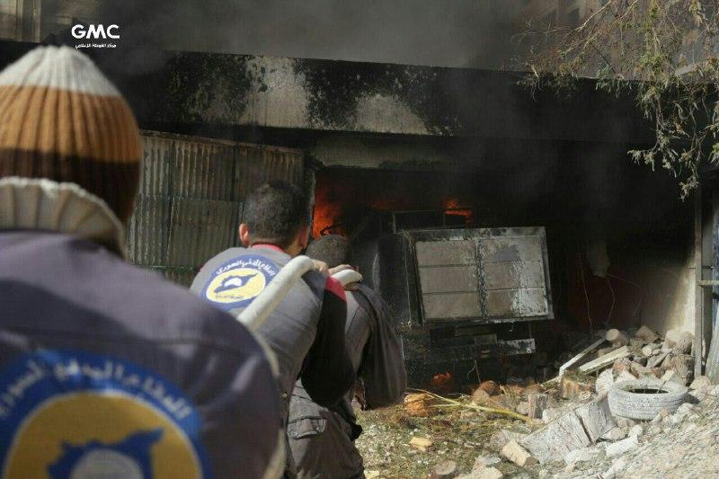 نشرة أخبار سوريا- 32 شهيداً في سلسلة مجازر لقوات النظام بالغوطة الشرقية، ومؤسسات ثورية ترفض مخرجات الرياض2 -(26-11-2017)