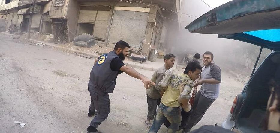 حوالي 1000 مدني قتلوا في سوريا الشهر الماضي، معظمهم على يد قوات النظام وحليفه الروسي