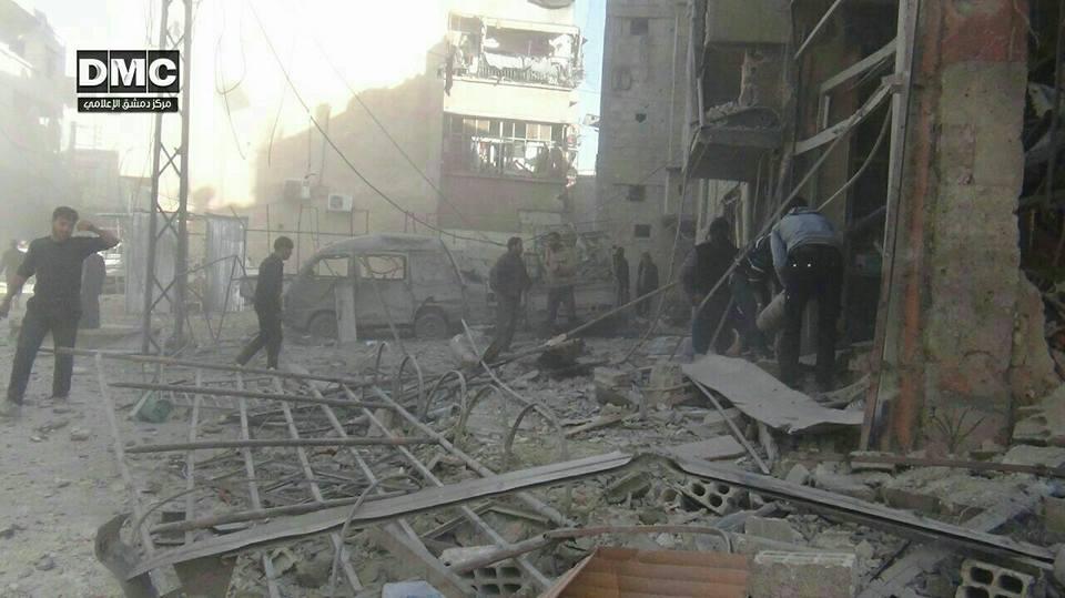 نشرة أخبار سوريا- قصف مدفعي على الغوطة يخلف ضحايا أطفال، و روسيا تعلن القضاء على تنظيم الدولة بشكل كامل  في سورية -(6-12-2017)