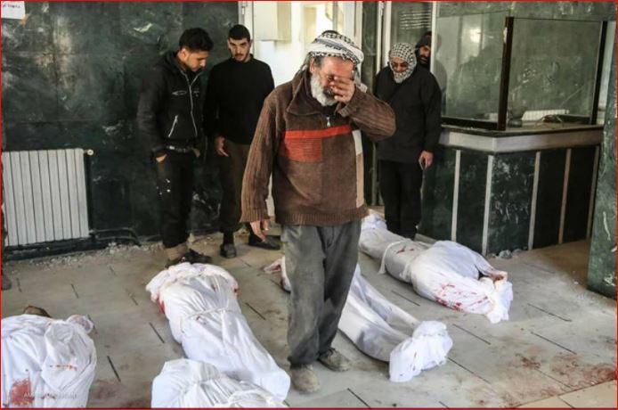 تقرير: روسيا والنظام متورطتان بارتكاب 30 مجزرة في سورية خلال نوفمبر الماضي