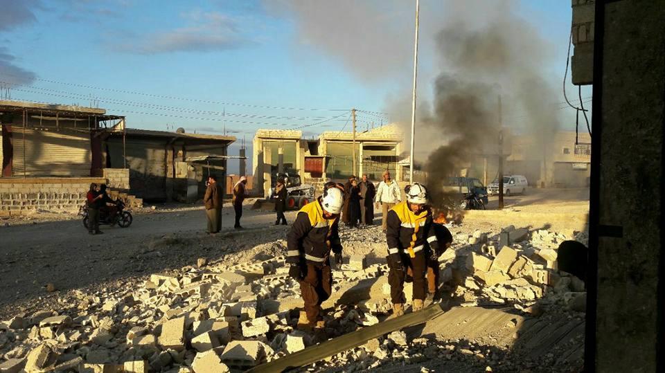 غارات روسية على ريفي حلب وإدلب