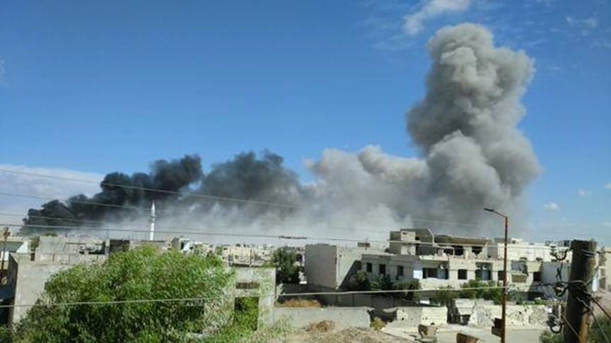 ريف حماة الشمالي يحترق: 125 غارة جوية منذ الصباح