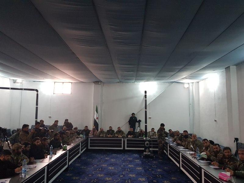وزارة الدفاع التابعة للحكومة المؤقتة تعلن تشكيل الجيش الوطني السوري