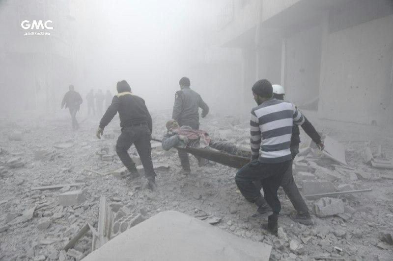 نشرة أخبار سوريا- 185شهيداً وجريحاً في الغوطة الشرقية خلال الأيام الأربعة الماضية، والائتلاف يعرب عن تضامنه مع