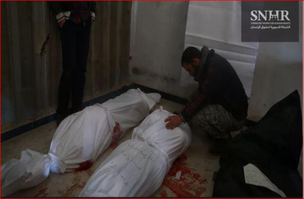 تقرير يوثق 374 مجزرة في سورية خلال 2017