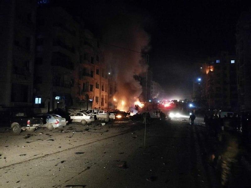 نشرة أخبار سوريا- عشرات الغارات الجوية على الغوطة الشرقية، و25 شهيداً وعشرات الجرحى في انفجار سيارة مفخخة في إدلب -(7-1-2018)