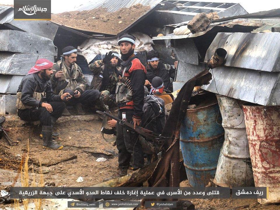 نشرة أخبار سوريا- النظام يتكبد خسائر فادحة إثر عملية انغماسية للثوار شرقي الغوطة، وتوثيق 25 شهيداً قضوا في مجزرة حمورية يوم أمس -(10-1-2018)