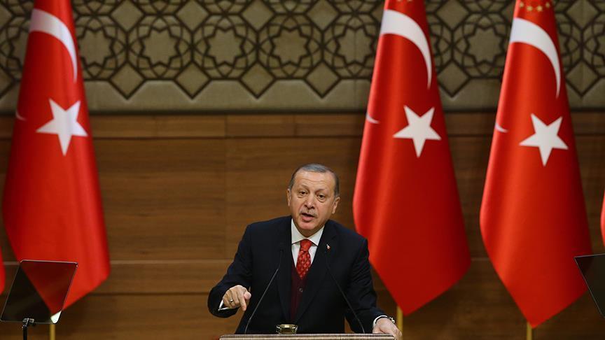 أردوغان يتوعد الميلشيات الكردية في سورية:
