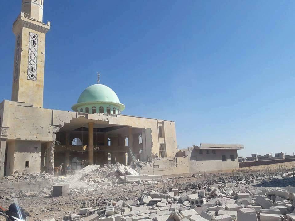 لاصلاة جمعة في إدلب اليوم