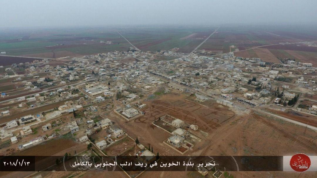 ما المناطق التي حررها الثوار في ريف إدلب الجنوبي اليوم؟