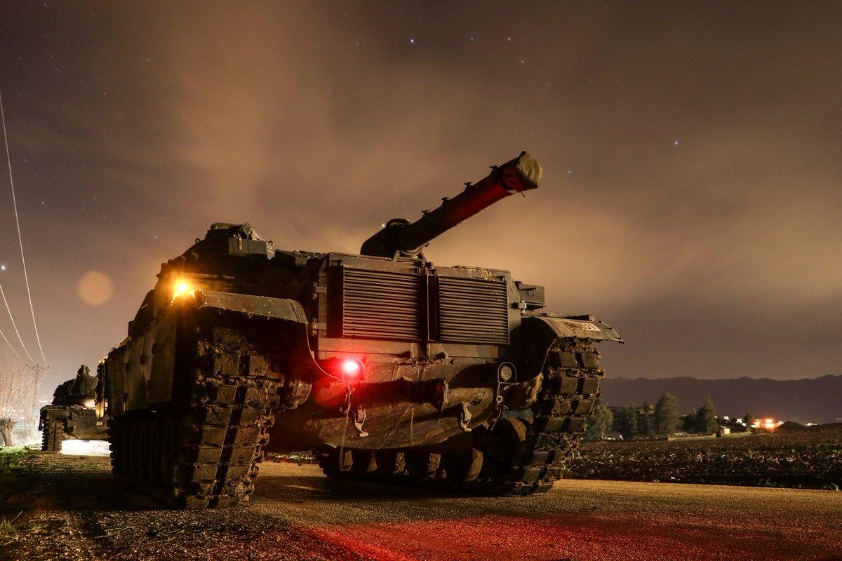 الجيش الحر يدخل منطقة عفرين