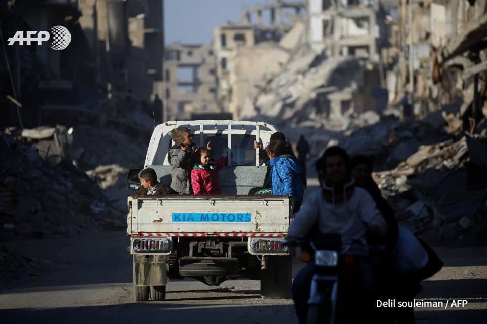 عام التشريد: تعرف على أبرز الانتهاكات بحق المدنيين في سورية خلال 2017