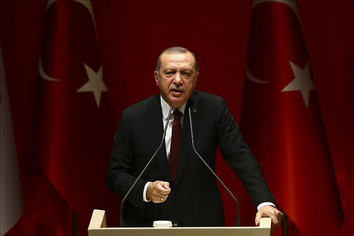 أردوغان يتوعد بطرد الميلشيات الانفصالية من منبج