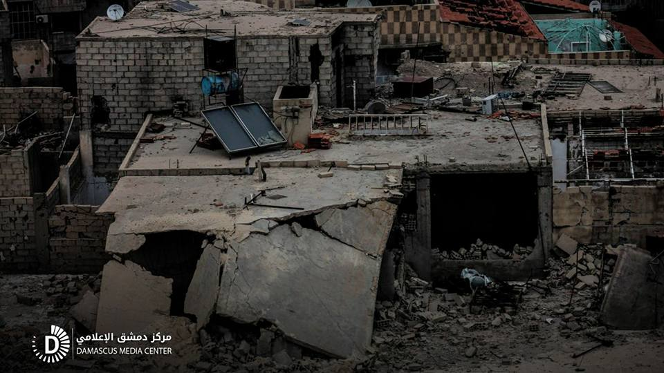 قوات النظام تخرق الهدنة في الغوطة الشرقية