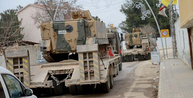 تفجير يستهدف رتلاً عسكرياً تركياً غربي حلب