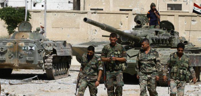 ثوار الغوطة يجهزون على مجموعة تابعة للحرس الجمهوري شرقي دمشق