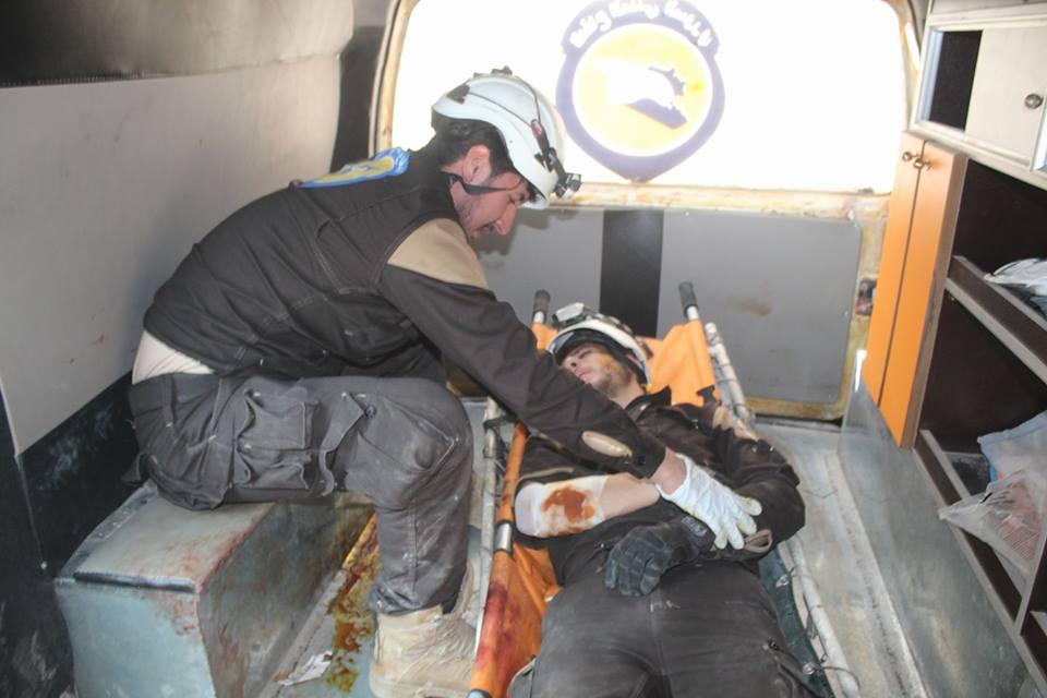 13 شهيداً في إدلب، جرّاء قصف جوي وصاروخي