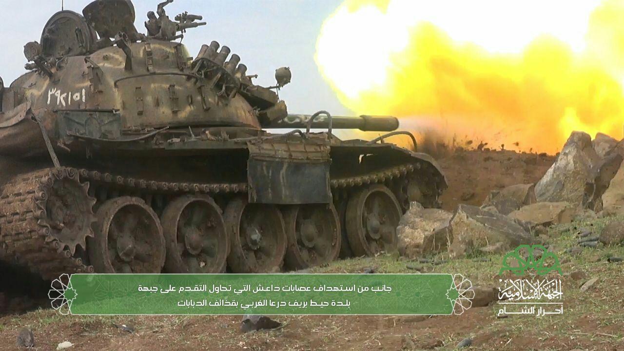 صدّ البغاة تؤكد دحر الدواعش عن جبهة حيط غربي درعا