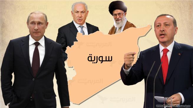 بوتين وشركاؤه الثلاثة