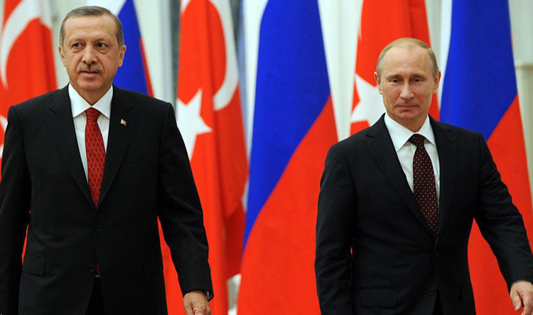 أردوغان وبوتين يبحثان تشكيل نقاط مراقبة جديدة في إدلب