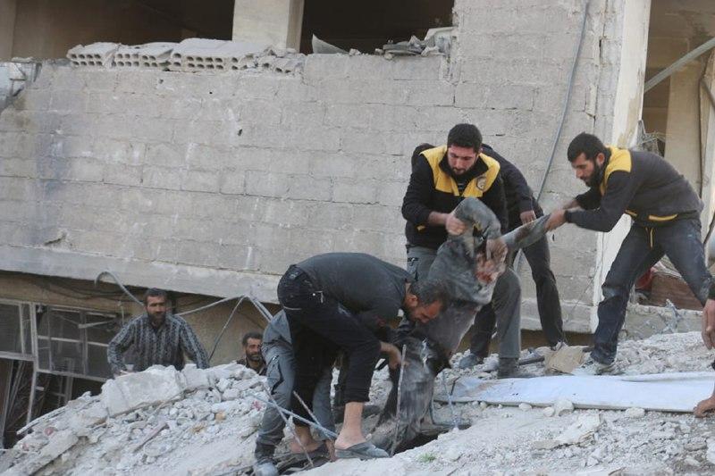 نشرة أخبار سوريا- روسيا والنظام يرتكبان المزيد من المجازر المروعة في الغوطة، وغصن الزيتون تسيطر على نصف مناطق عفرين -(5-3-2018)