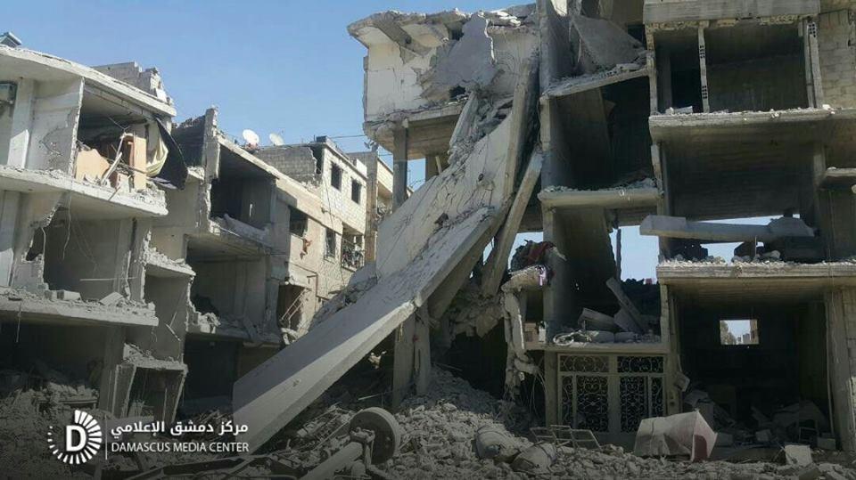 هذه حصيلة شهداء الغوطة خلال شهر من القصف المتواصل