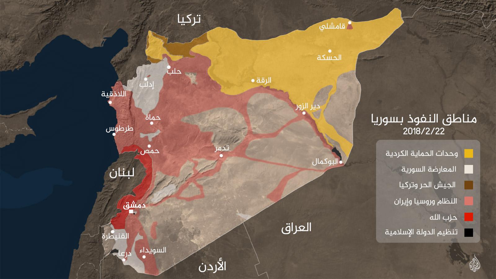 شبح التقسيم واكتمال الصراع على سوريا