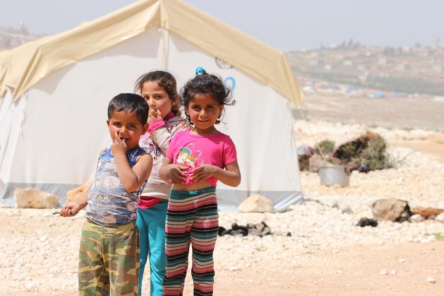 تركيا تنشئ مخيماً لمهجّري الغوطة في إدلب