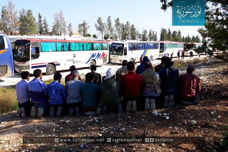 نشرة أخبار سوريا- قافلة مهجري دوما السادسة تصل ريف حلب الشمالي، ومجلس الأمن يعقد جلسة طارئة بخصوص سوريا -(13-4-2018)