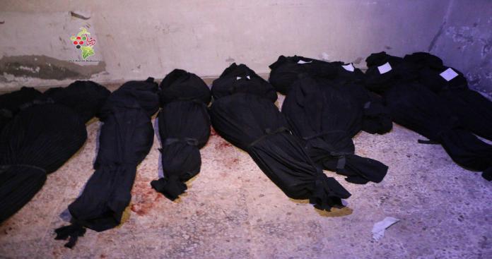 تقرير: انخفاض غير مسبوق لحصيلة المجازر المرتكبة في سوريا