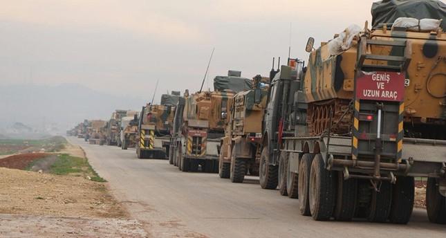 رتل عسكري تركي يدخل ريف حلب الغربي.. والسبب؟