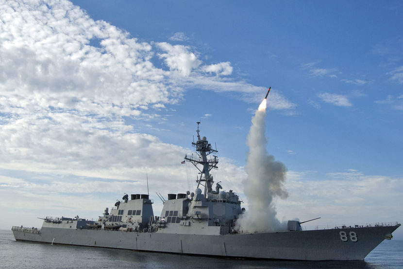 البوارج الروسية المحملة بصواريخ كاليبر تدخل الخدمة الدائمة