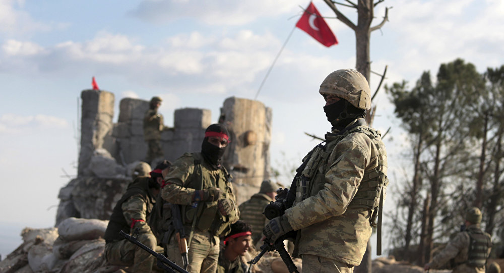 الخارجية التركية: قواتنا ستبقى في عفرين بعض الوقت لمواصلة التنمية