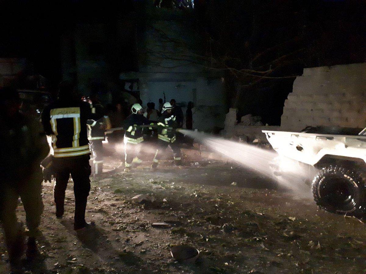 جرحى مدنيون في انفجار سيارة مفخخة وسط جرابلس